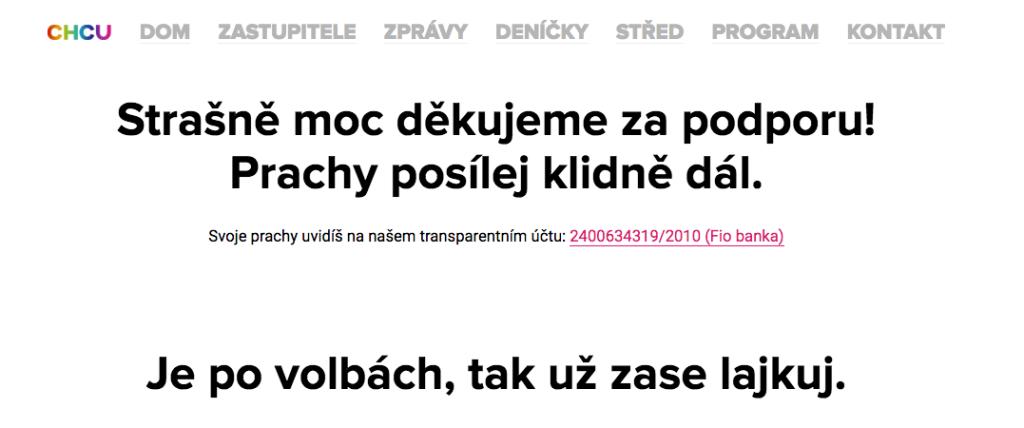"""""""Je po volbách, tak už zase lajkuj"""" či """"Prachy posílej klidně dál."""" To jsou prostě ti Brňáci. Ale vidíte, i s takovým svérázným a vtipným politickým marketingem se Žít Brno dostalo do městské rady."""