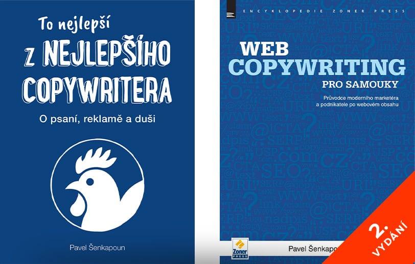 Knihy (nejen) od copywritingu - náhled knih