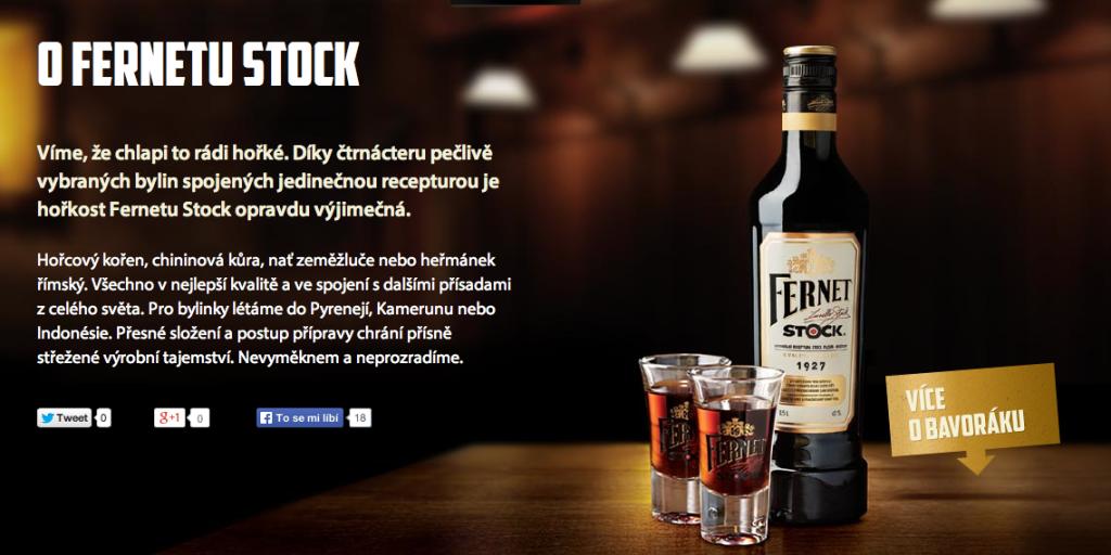Slogany pro Fernet Stock patří k české reklamní klasice.