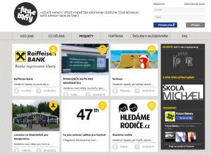 Futurebakery - online tržiště s nápady.