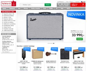 Kytary.cz mají internetový marketing docela zmáknutý.