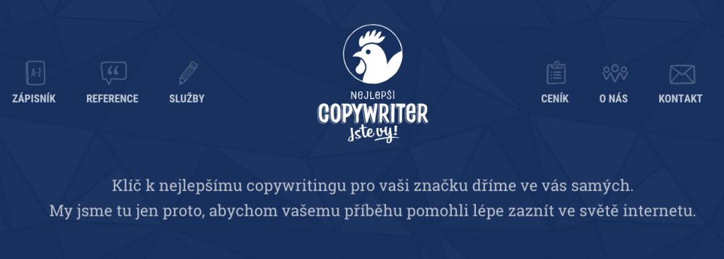 Na webu Nejlepšího copywritera nám přibylo pár stránek.