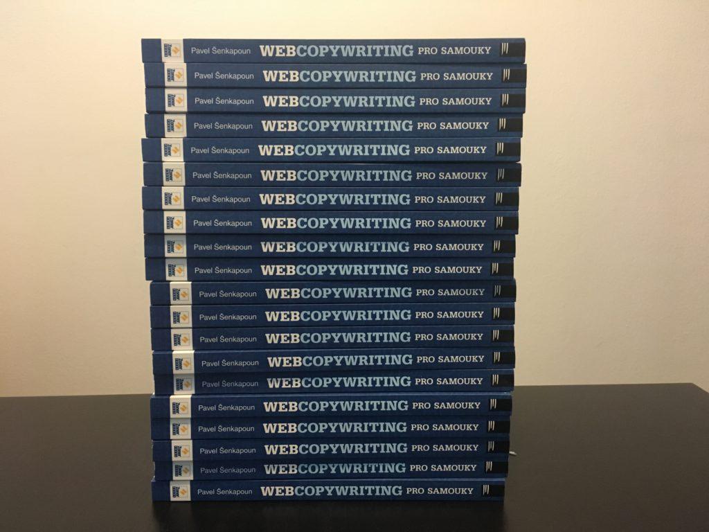 Tohle je štos Webcopywritingů pro samouky, který chci rozdělit mezi 10 neziskových organizací.