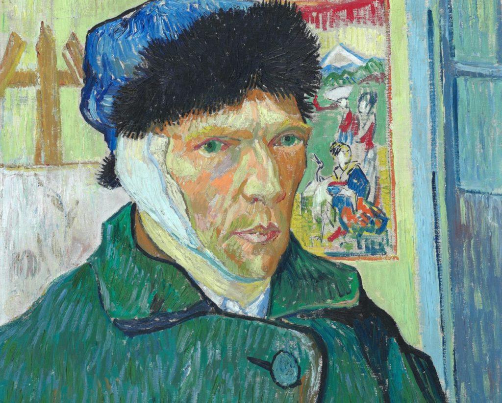 Že si Vincent van Gogh ušmik ucho je známá věc. Stále se ale vedou debaty, co ho k tomu vedlo. Pánové Kriesman a Straus tvrdí, že ho k tomu vedl nezvladatelný záchvat hněvu. Jeho přítel Paul Gaugain poznamenal něco v tom smyslu, že on by to teda namaloval jinak, a hned byl oheň na střeše. A ucho v hazlu.
