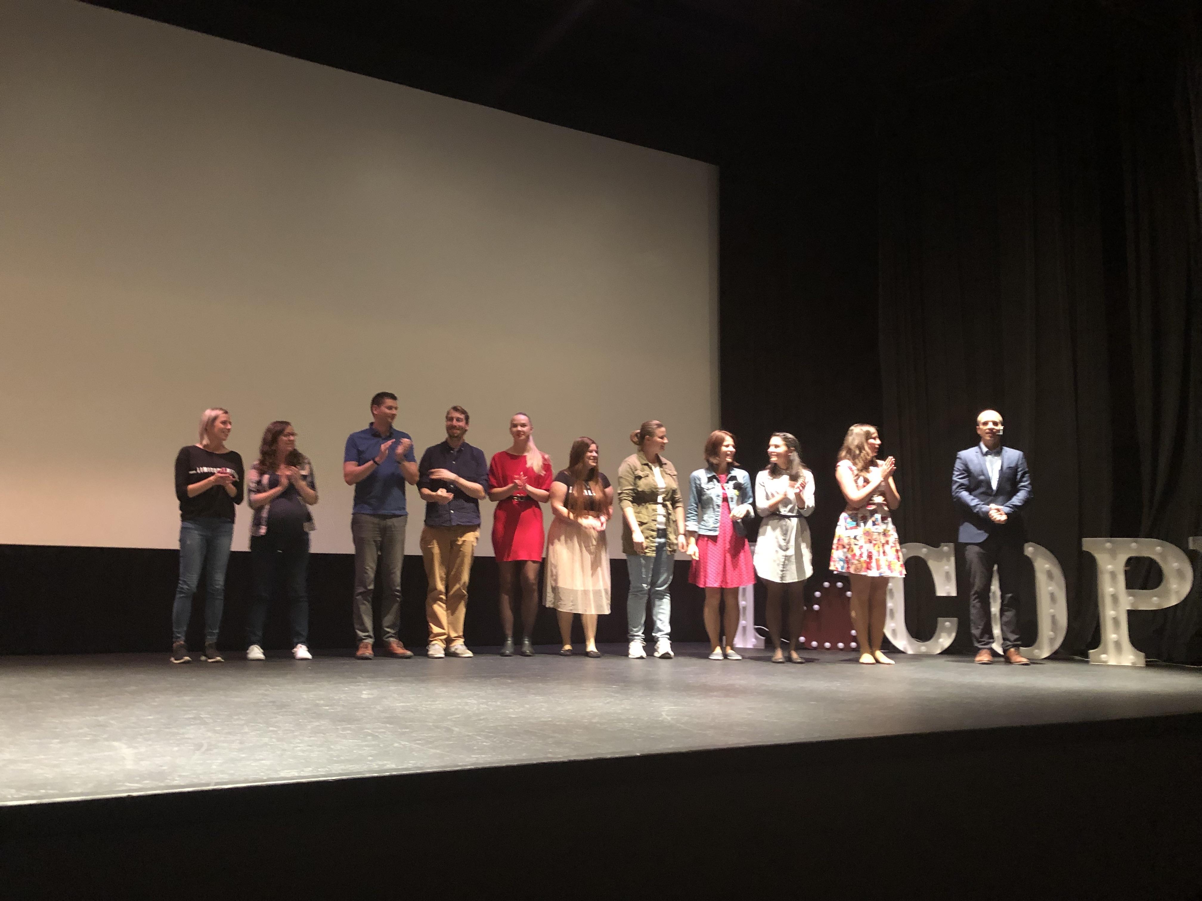 Díky těmto úžasným mladým lidem z H1 jsme měli jubilejní desátý Copycamp. Sláva jim!